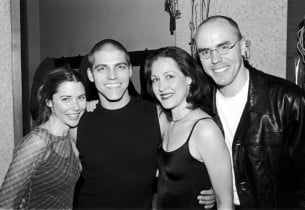 Kerry Butler, Deven May, Kaitlin Hopkins and Sean McCourt