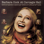 Barbara Cook at Carnegie Hall – 1975