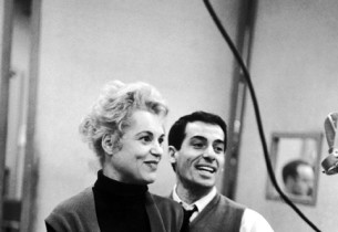 Judy Holliday and Peter Gennaro