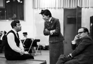 Adolph Green, Betty Comden and Jule Styne