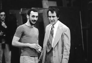 Michael Bennett and Joe Papp