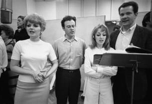 Jackie Alloway, Bob Dishy, Sheila Sullivan and Robert R. Kaye