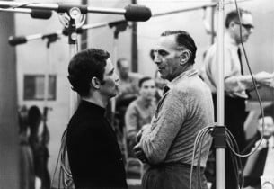 Joel Grey and Goddard Lieberson
