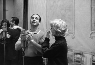 Sid Caesar and Virginia Martin (Photo: Marvin Lichtman)