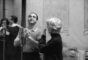Sid Caesar and Virginia Martin (Photo: Marvin Lichtman)