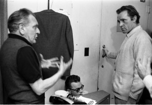 Frederick Loewe and Richard Burton
