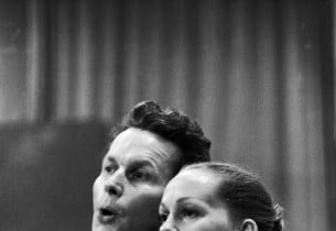 Robert Rounseville and Barbara Cook