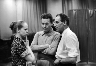 Barbara Cook, Robert Rounseville and Max Adrian