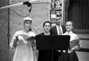 Patrice Munsel, Gloria Lane, Herbert Banke, Florence Henderson