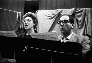 Risë Stevens and Robert Merrill