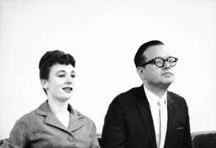 Sandra Church and composer Jule Styne