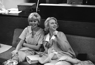 Barbara Ruick and Celeste Holm
