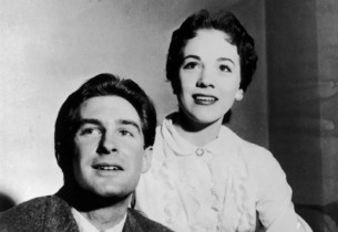 Jon Cypher and Julie Andrews