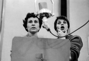 Alice Ghostley and Kaye Ballard