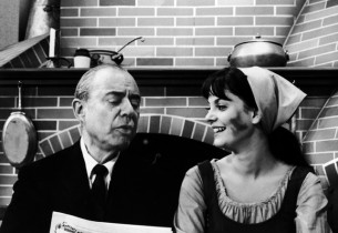 Composer Richard Rodgers and Lesley Ann Warren