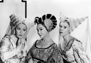 Cinderella stepsisters and stepmother: Pat Carroll, Jo Van Fleet and Barbara Rui