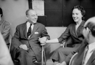 Richard Rodgers and Julie Andrews