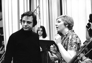 Stephen Sondheim and Pamela Myers (Photo: Sandy Speiser)
