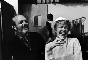 Harold Prince and Elaine Stritch (Photo: Sandy Speiser)