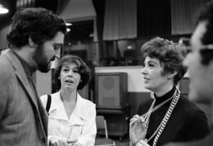 Hal Linden, Sally Stark and Adrienne Angel