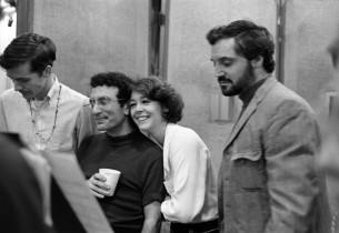 David Christmas, Joseph Sicari, Sally Stark and Hal Linden (Photo: Sandy Speiser