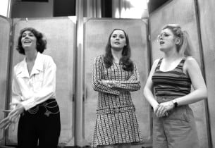 Sally Stark, Tamara Long and Bernadette Peters (Photo: Sandy Speiser)