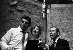 Stephen Douglass, Gwen Verdon and Ray Walston