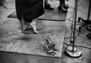 Joan Diener's shoes