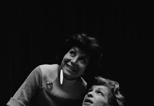 Co-writer Betty Comden and Nancy Walker