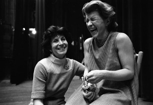 Betty Comden and Nancy Walker