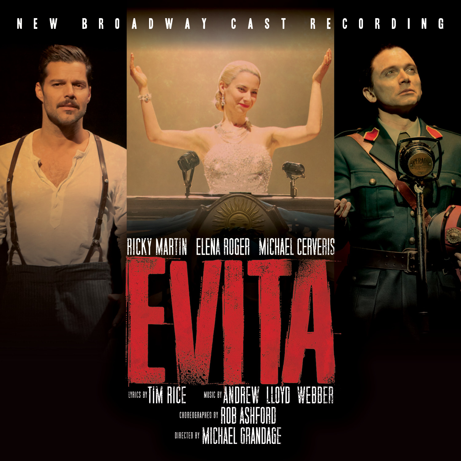 Evita – New Broadway Cast Recording 2012