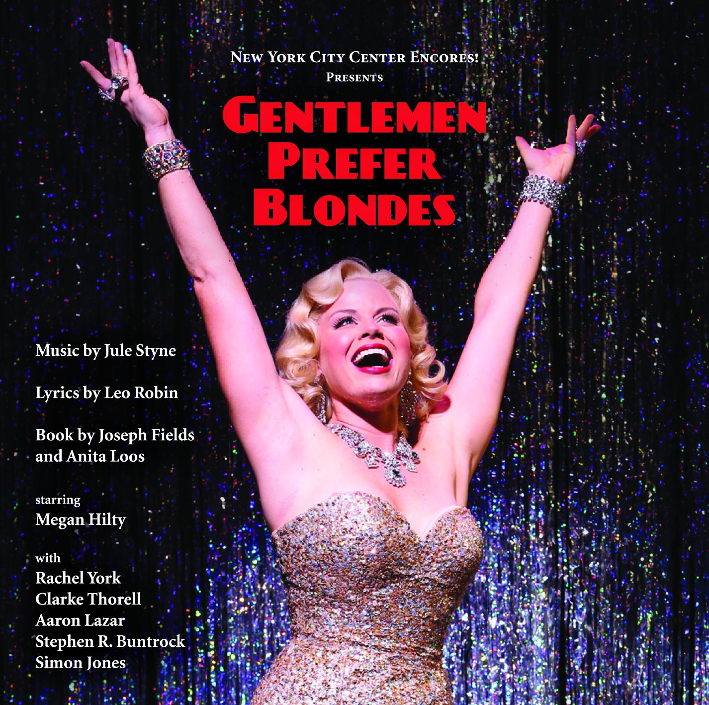 Gentlemen Prefer Blondes: Encores! Cast Recording 2012