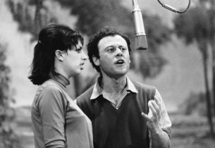 Liza Minnelli and Bob Dishy  (Photo: Henri Dauman)