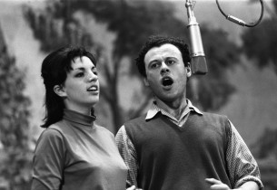 Liza Minnelli and Bob Dishy