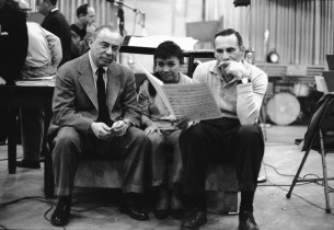 Richard Rodgers, Pat Suzuki, and Goddard Lieberson
