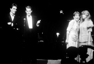 Howard McGillin, Jim Walton, Liz Callaway and Daisy Prince