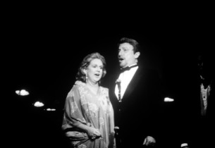 Barbara Cook and George Hearn