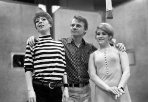 Betty Ann Grove, Jerry Dodge, and Bernadette Peters