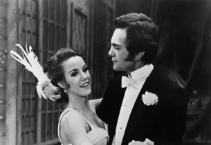 Karin Wolfe as Gigi and Daniel Massey as Gaston