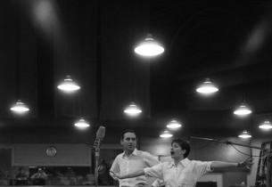 Zizi Jeanmaire and Goddard Lieberson