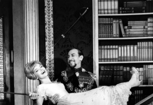 Florence Henderson and José Ferrer in a scene from the show