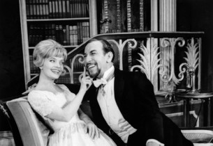 Florence Henderson and José Ferrer in another scene