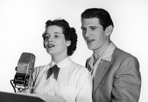 Priscilla Gillette and Stephen Douglass