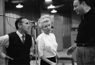 Goddard Lieberson, Elaine Stritch, and Lehman Engel (Photo: Don Hunstein)