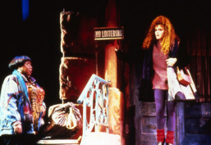 Carol Woods and Bernadette Peters