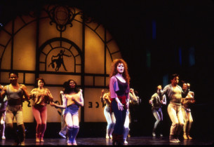 Bernadette Peters and cast