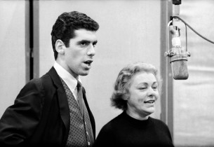 Elliot Gould and Lillian Roth