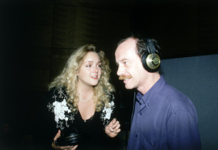 Jane Krakowski and Michael Jeter (Photo: Nick Sangiamo)