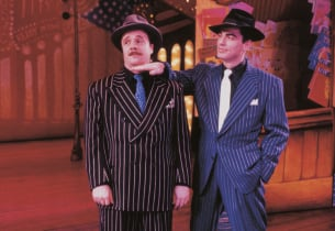 Nathan Lane and Peter Gallagher (Sky Masterson):