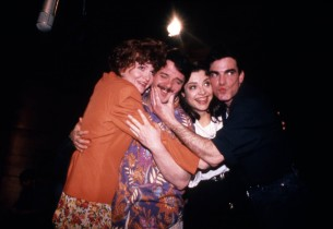 Faith Prince, Nathan Lane, Josie de Guzman, and Peter Gallagher